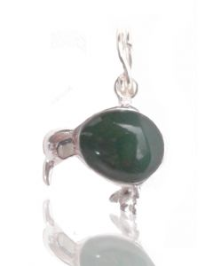 Kiwi charm 925 Sterling Silver jade Fern Charm new zealand