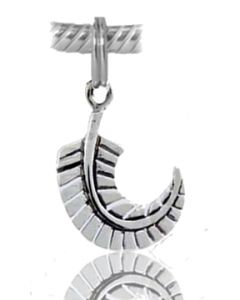 925 Sterling Silver NZ Fern Charm