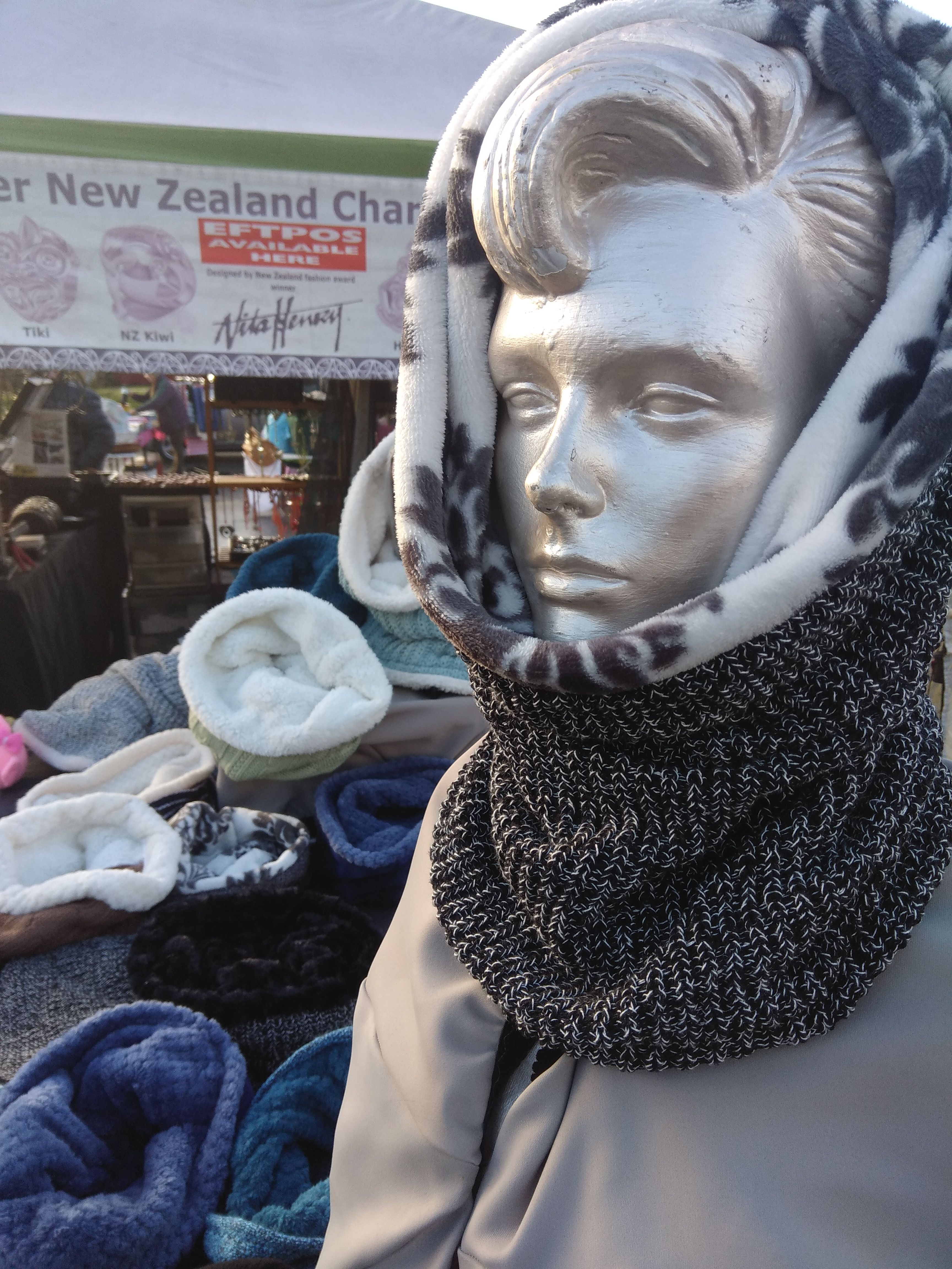 Snood Scarf/Hat