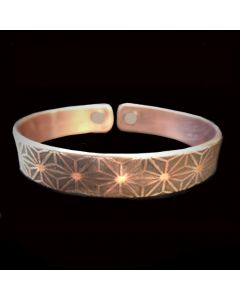 BC9 Copper Magnetic Band 'Geometric'