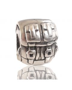 Sacred NZ 925 Sterling Silver New Zealand Tramping Charm Bead