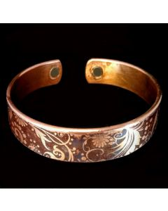 BCN31 Copper Magnetic Band 'Floral Mix'