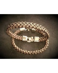 2024 Unisex Leather Band Chain (12mm)