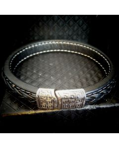 1117 Unisex Leather Band  (12mm)