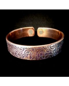 BC5 Copper Magnetic Band 'Koru 2'