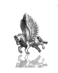Sacred NZ 925 Sterling Silver New Zealand Maori Pegasus Charm Bead