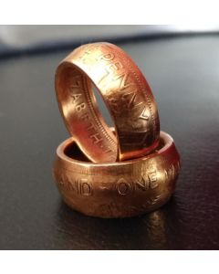 NZ Penny Coin Ring