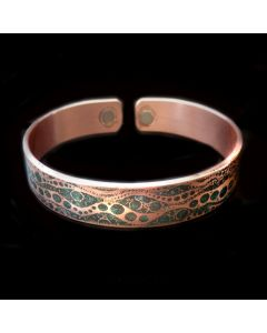 BC6 Copper Magnetic Band 'NZ Water'