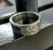 NZ Coin Rings