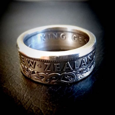 NZ alf crown ring